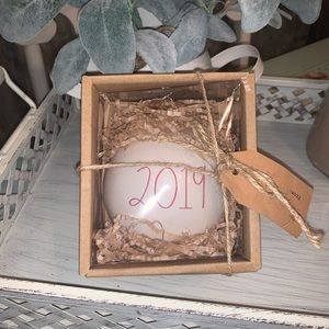 new: Rae Dunn ornament 2019